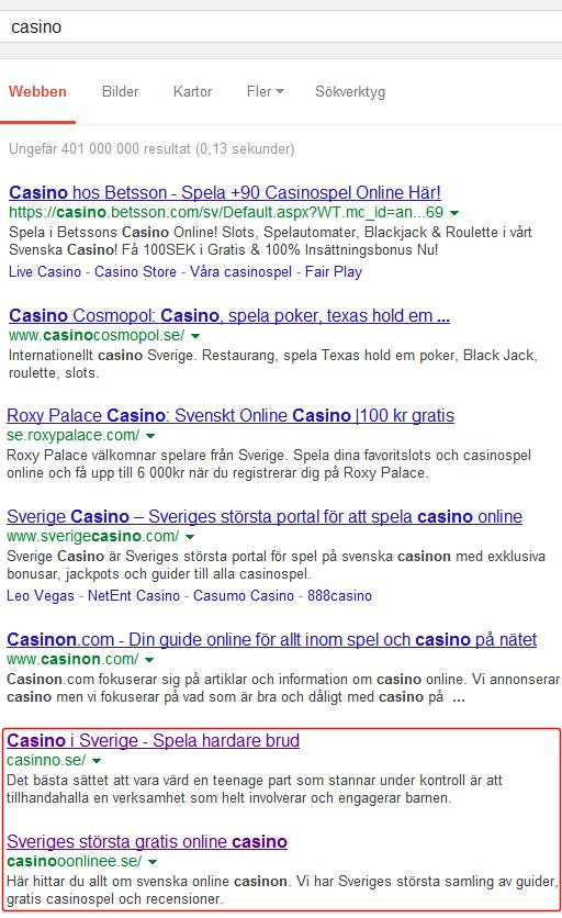 casino-serp